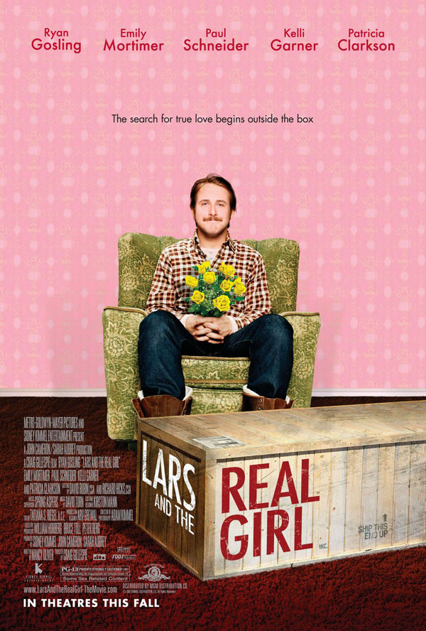 Lars and the Real Girl movie poster onesheet