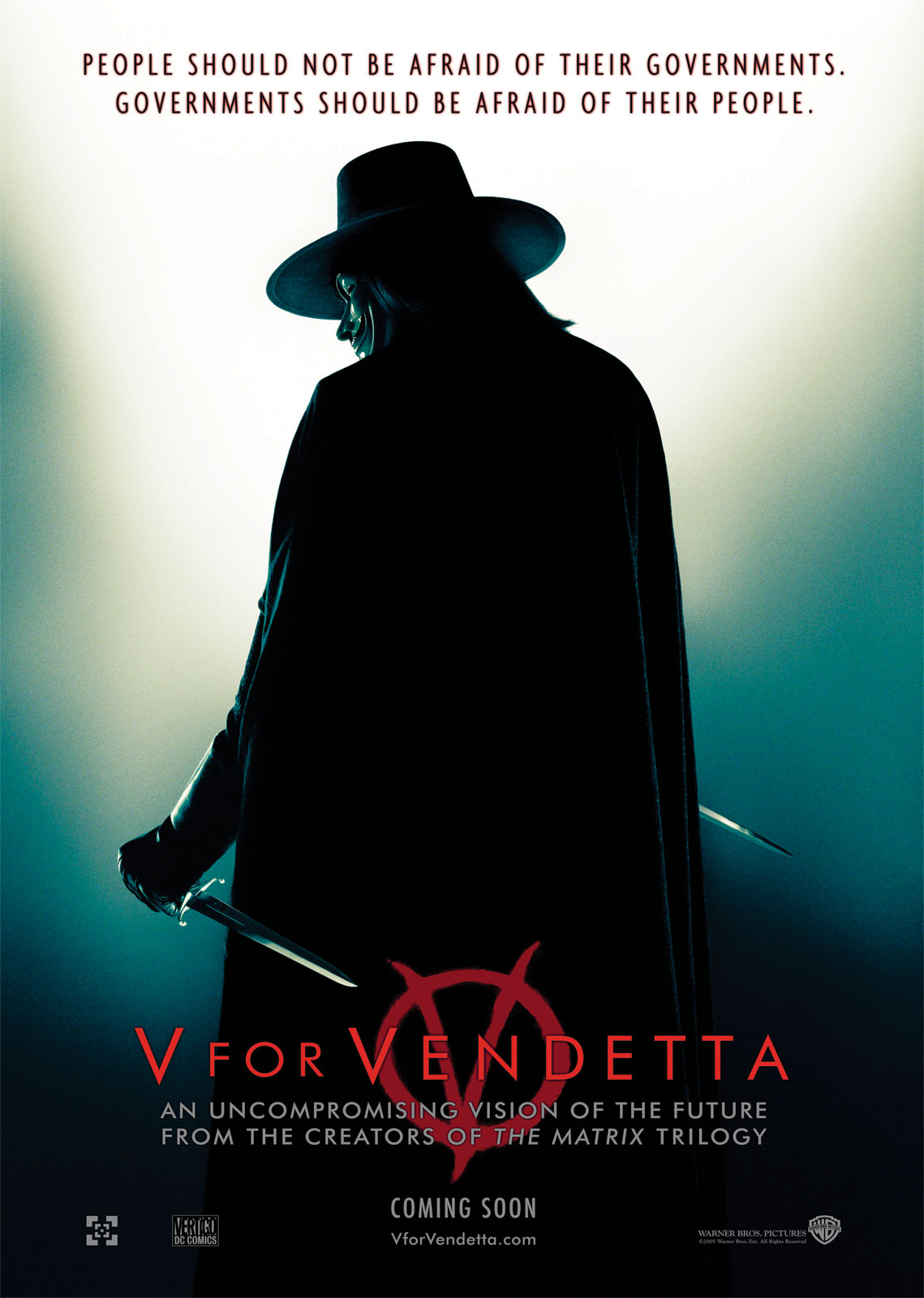 V for Vendetta » Masculinity-Movies.com